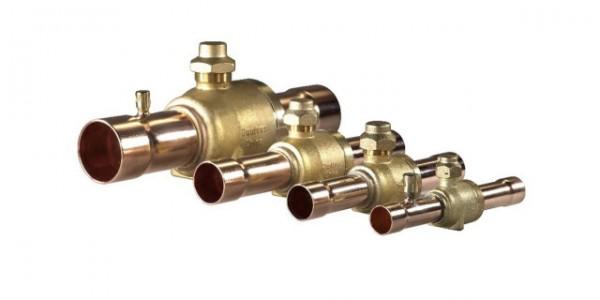 GBC kuleventil for HFK m/ schrader