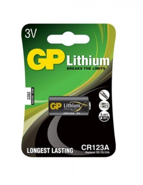Batteri CR123 - 9V