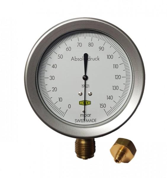 Vakuumeter analogt, Refco Absolutt