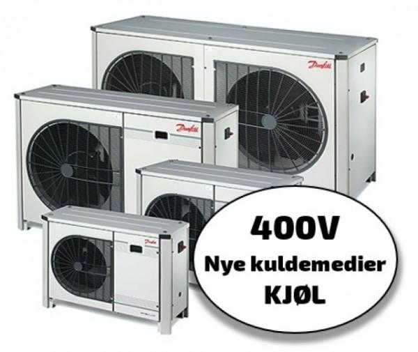 Optyma+ New Generation 400V, kjøl, nye kuldemedier