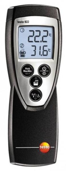 TESTO 922 2-kanals temperaturmåler