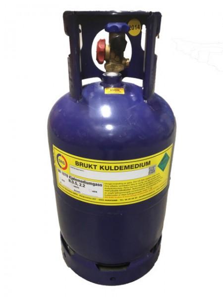 Retursylinder 27,2 kg Isovator