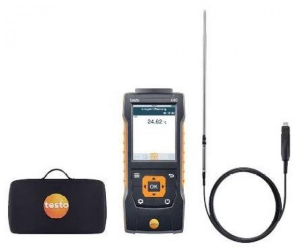 TESTO 440 Humidity kit. Sett brukt for aggresive kuldemedier