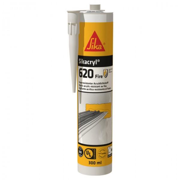 Sikacryl-620 Fire Brannhemmende akryl hvit 600ml