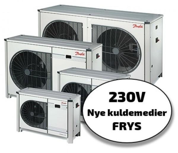 Optyma+ New Generation 230/1/50, frys, nye kuldemedier