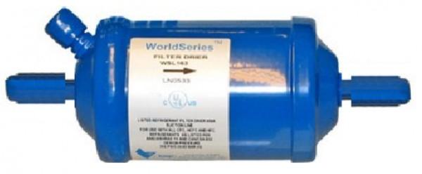 WSL suge- og burnoutfilter m/ schrader, lodde tilslutning