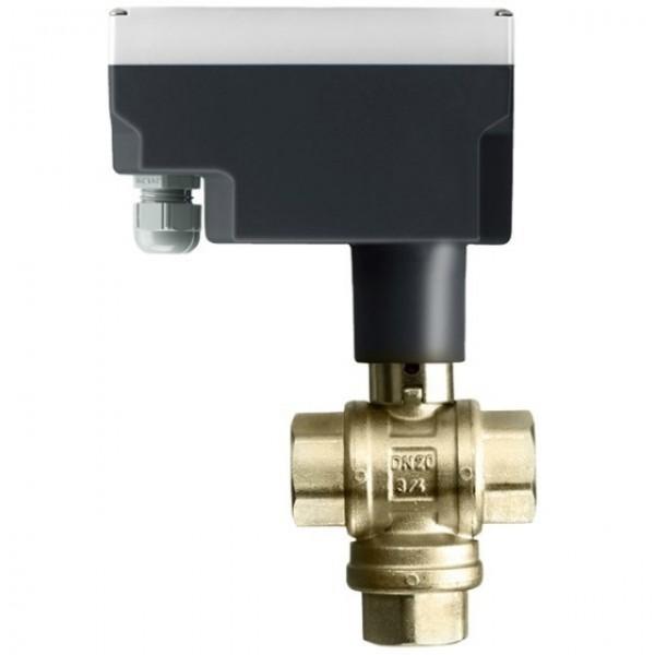 DUE vannreguleringsventiler 3-veis m/ventilmotor (-15°C)