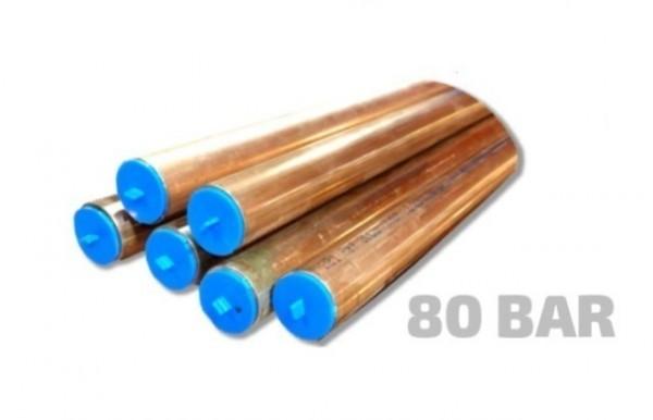 Kobberrør i rette lengder 5 M 80 bar - Cupori 221