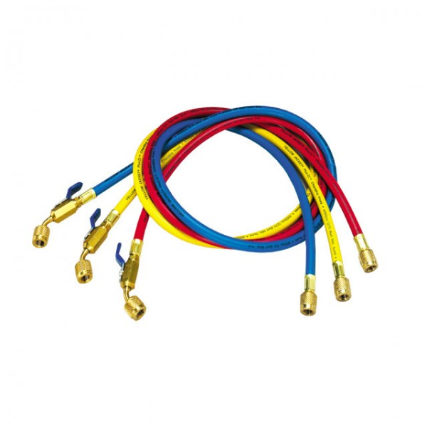 """Slangesett Yellow Jacket Plus II 5/16"""" x 1/4"""" R410A m/kran. 150cm"""