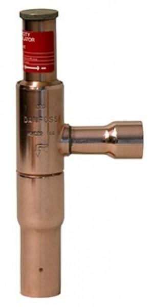 KVC ventil for varmgass kap.regulering