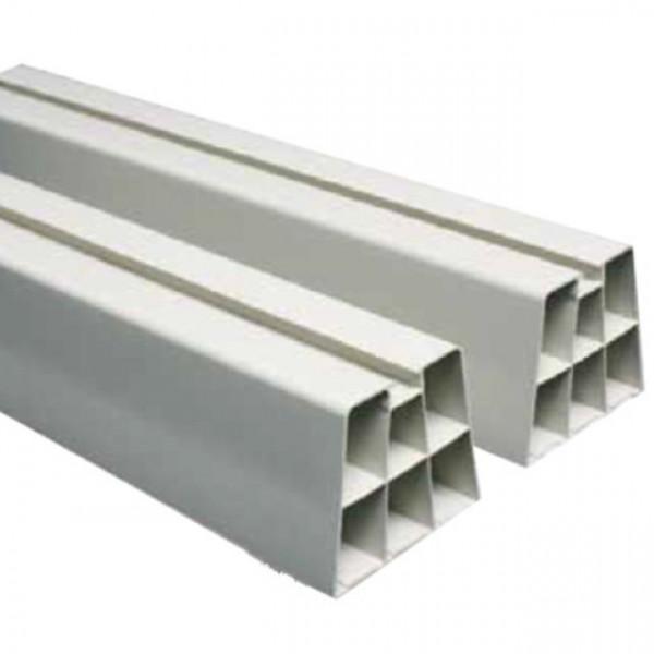 Dempeblokk 450mm, hvit