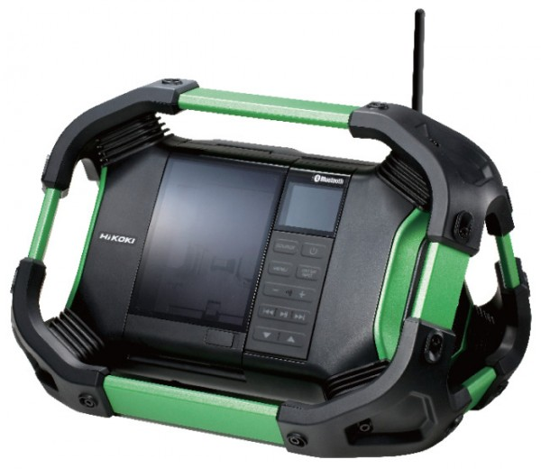 HiKOKI radio UR18DSDL 14.4V/18V (u/ batteri)