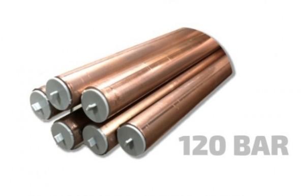 Kobberrør i rette lengder (5M) 120 bar