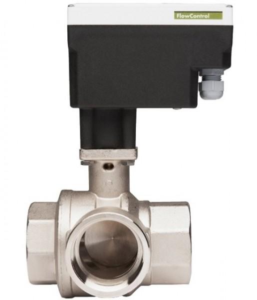 MAXI vannreguleringsventil 3-veis m/ventilmotor (-15°C)