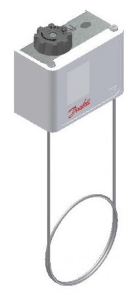 KP termostater, sylindrisk føler (følertype E)