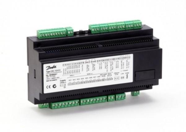 AK-PC 530. Kapasitetsregulering av kondensatorer.
