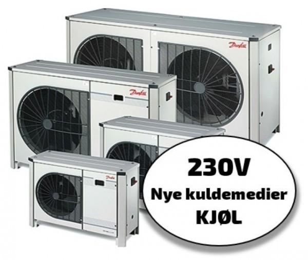 Optyma+ New Generation 230/1/50, kjøl, nye kuldemedier