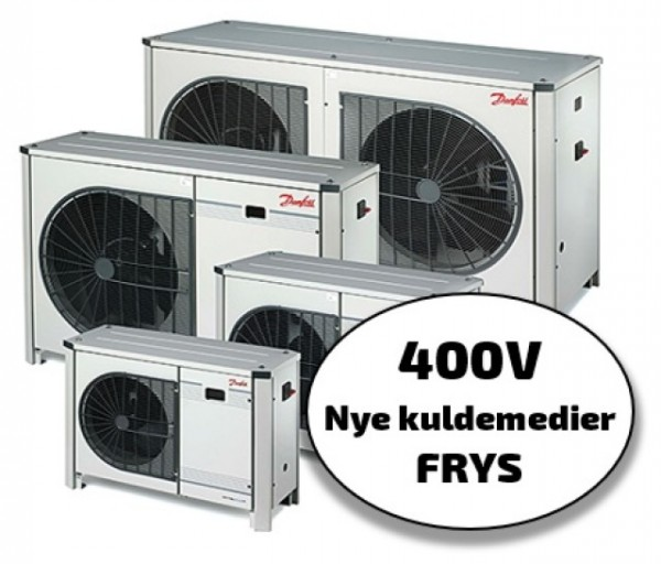 Optyma+ New Generation 400V, frys, nye kuldemedier