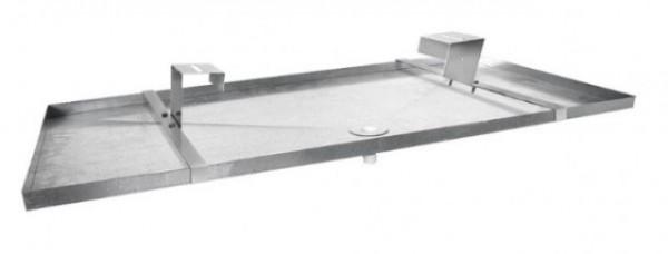 Dryppanner i galvanisert stål - Niccons