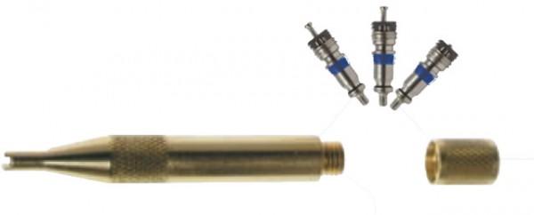Schraderventil - Nøkkel