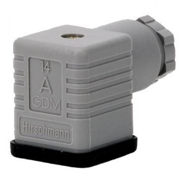 Kabelplugg (passer til spole 17W DIN-stikk, 018F6193)